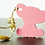 Thumbnail: Silicone Baby Elephant Teether - Desert Rose Pink