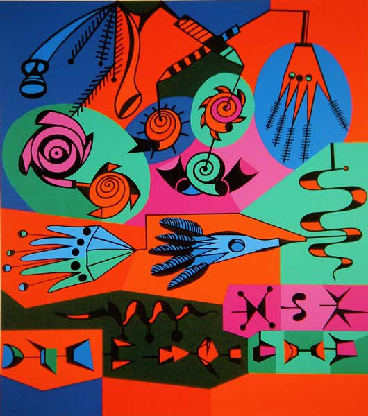 Graffitti - Alfred Pellan