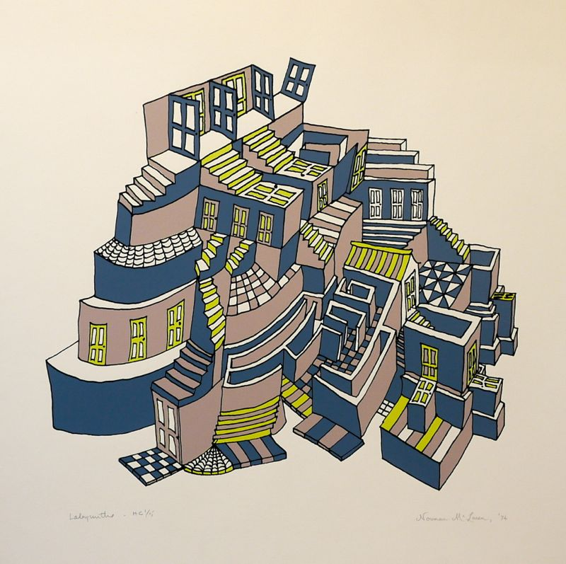Labyrinthe - Norman McLaren