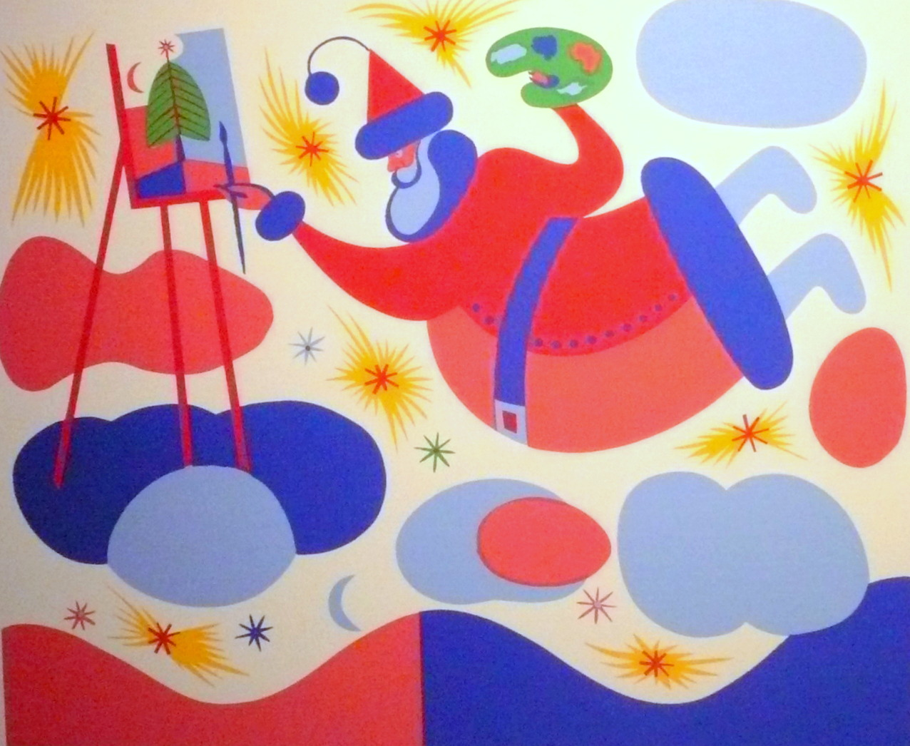 Le peintre - Alfred Pellan