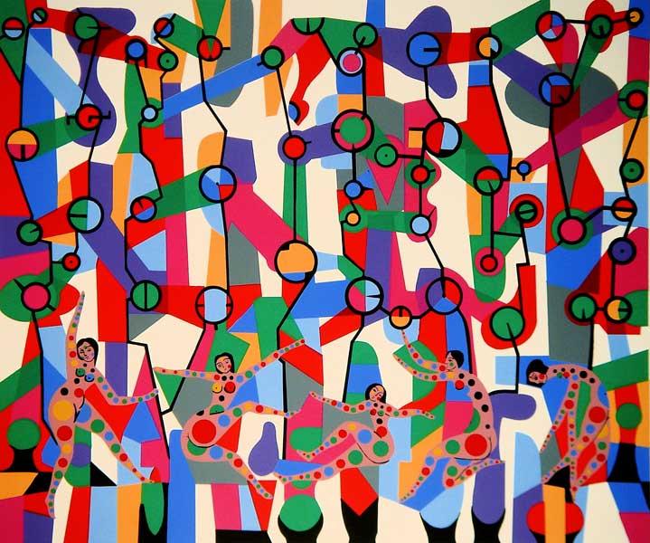 Discothèque - Alfred Pellan