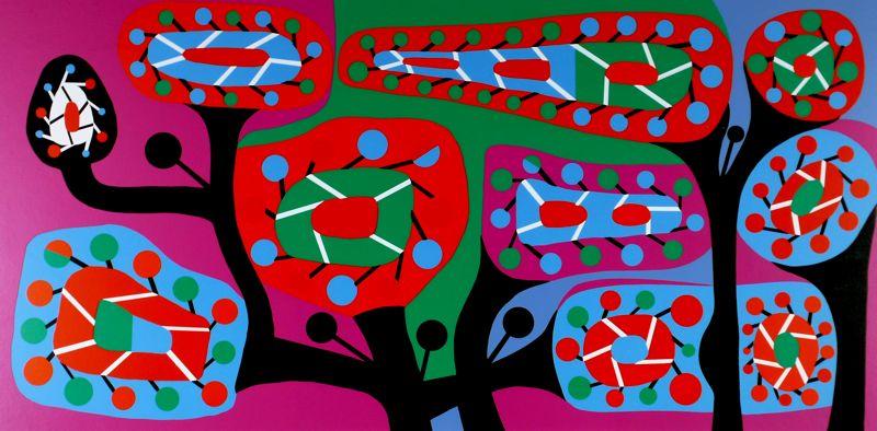 Fleurs gadgets - Alfred Pellan