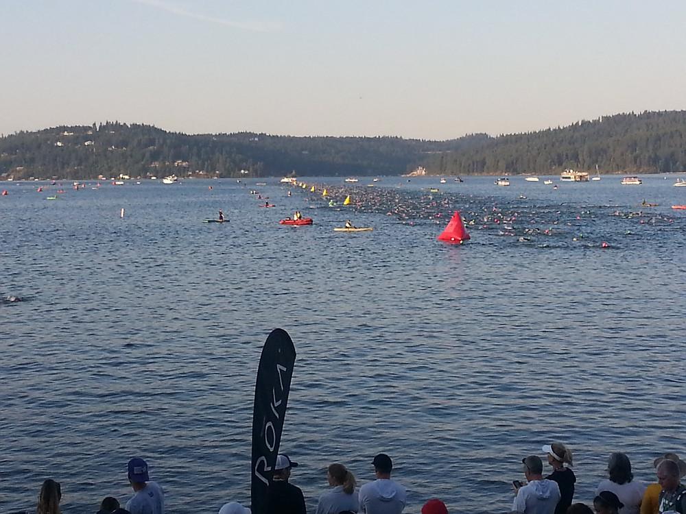 Start of the swim.