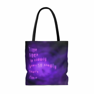 """Time"" Tote Bag"