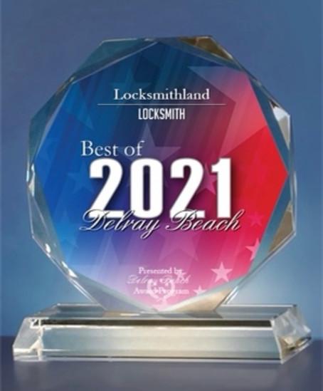 2021 Best Locksmith Award