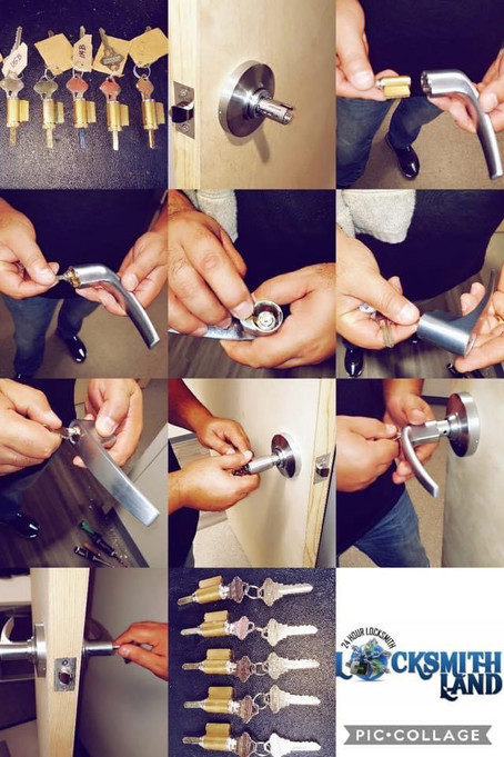 Rekey is a great option if you want all your locks to work with the same key.