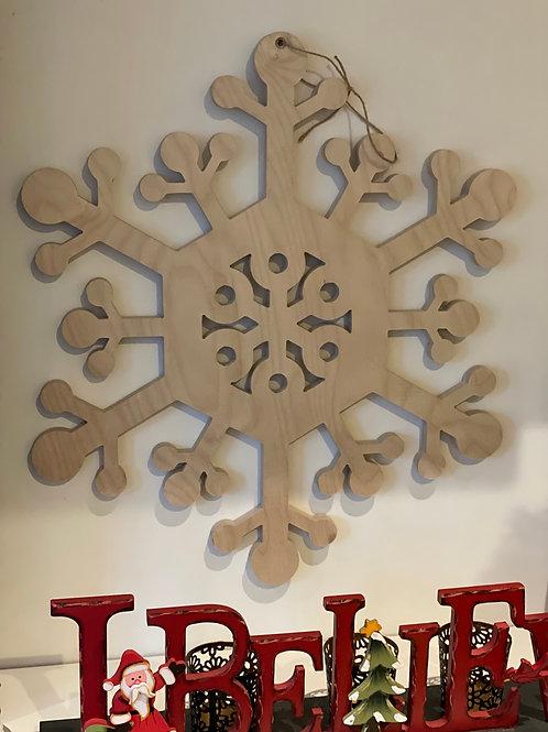 Scandinavian Style, Birch Snowflake
