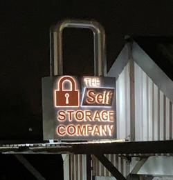 lock at night