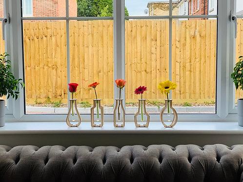 Elegant Modern Test Tube Vase Collection