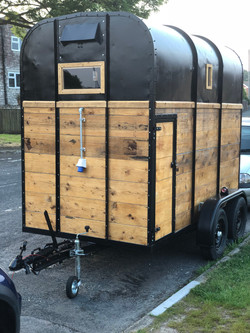 Front of trailer