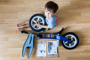 Quick assembly of your FirstBIKE