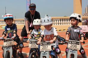 「迷你車團」平衡單車親子大賽照片