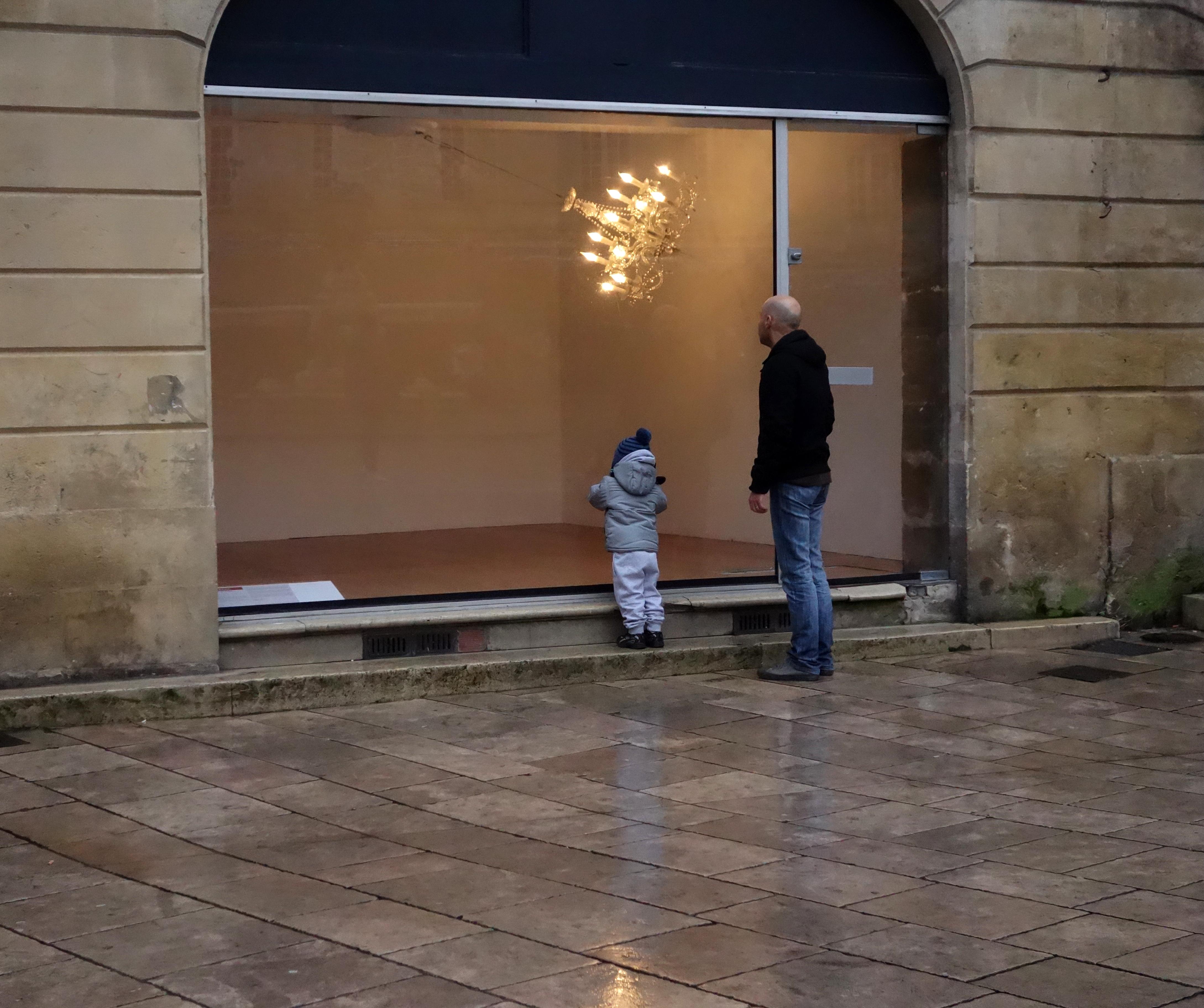 Julien Bethier Crystal Palace Place Parlement Bordeaux exposition art