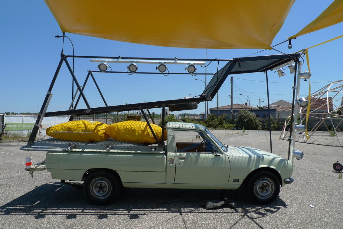 Chantier mobile, Grand Parc Bordeaux