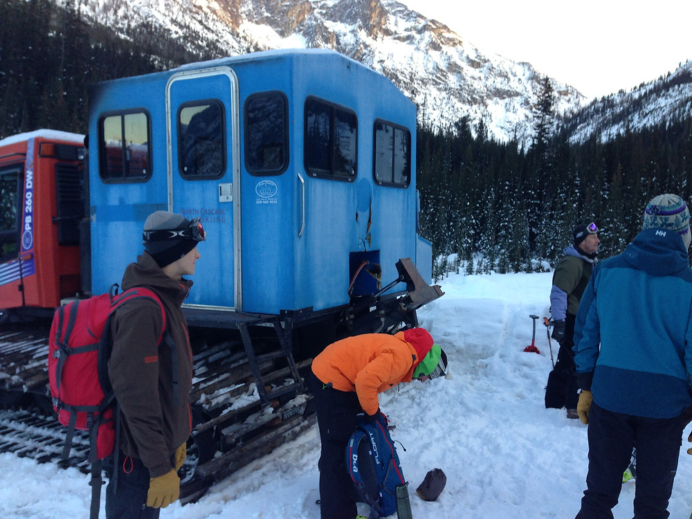 Avalanche Safety Class, North Cascades