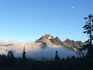 Six days in the wilderness. Finding joy—and story ideas—in a trek across Olympic National Park.