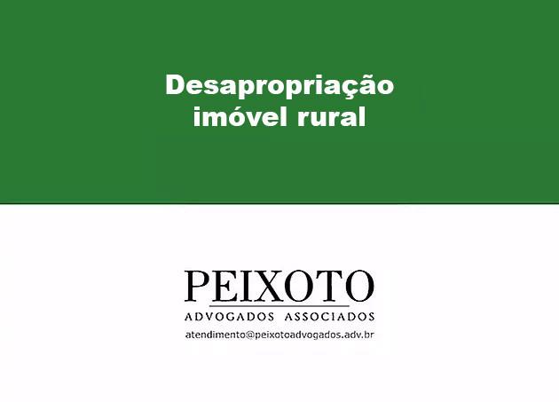 Desapropriação de Imóvel Rural (video)