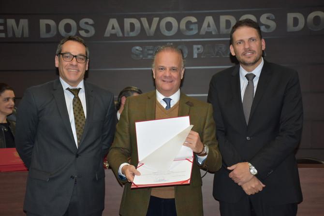 Marco Antonio Peixoto toma posse como membro da Comissão de Advocacia Criminal da OAB do Paraná