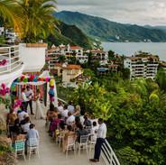 Villa Azul, Conchas Chinas Wedding