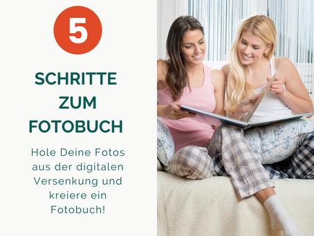 5 Schritte zum Fotobuch