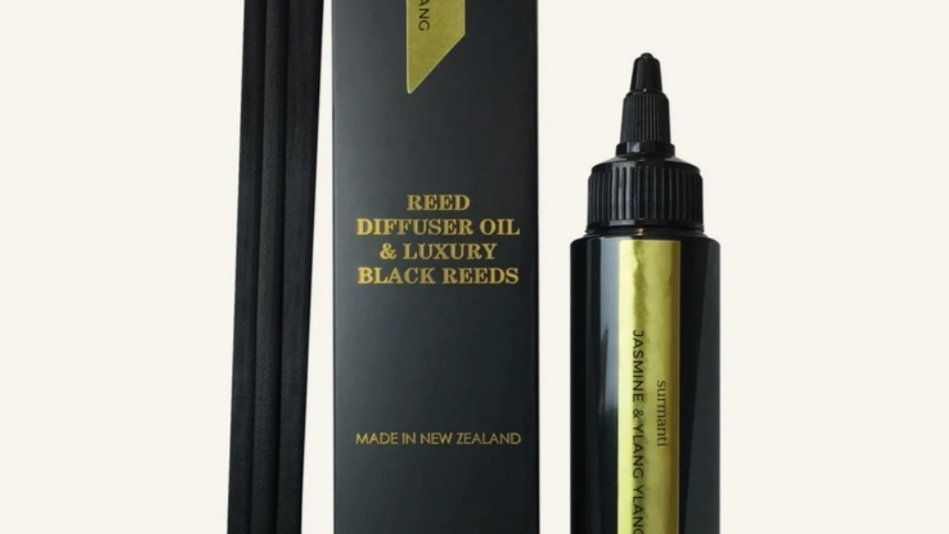 Surmanti Jasmine & ylang ylang Reed diffuser REFILL
