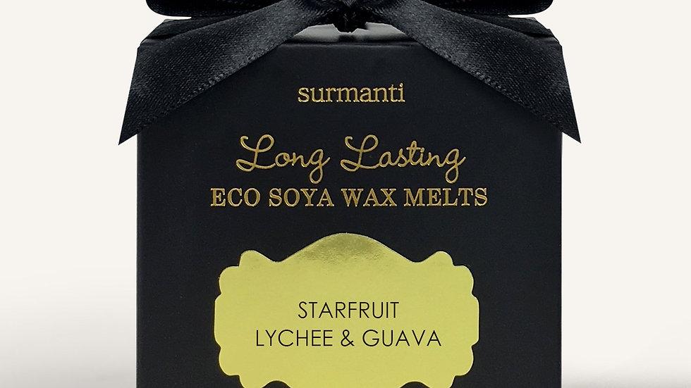 Surmanti long lasting wax melts - Starfruit lychee & guava