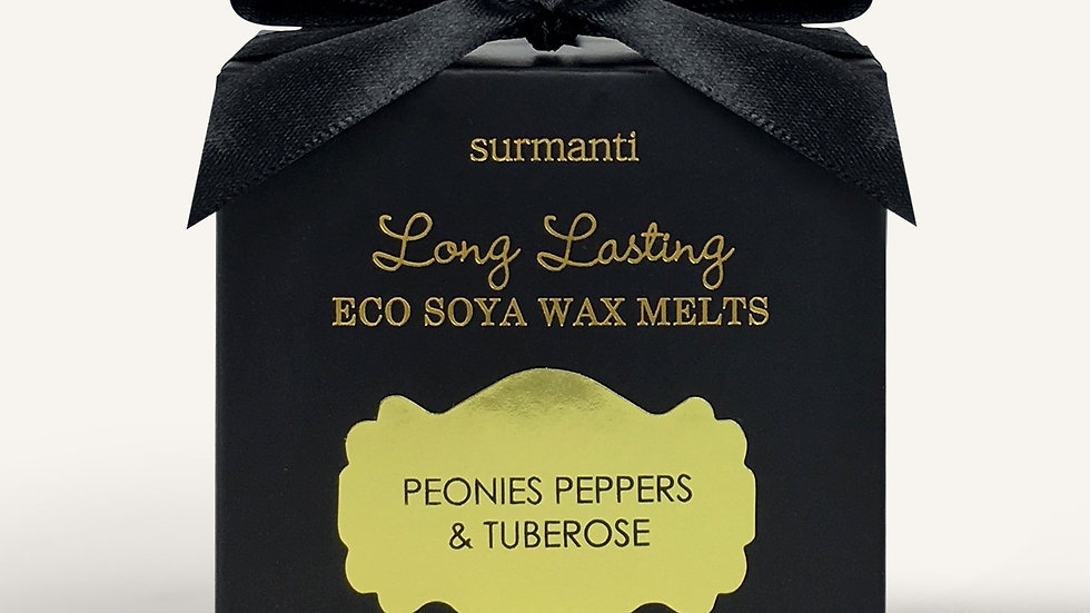 Surmanti wax melts - peopnies, peppers & tuberose