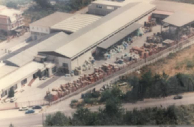 Ripresa aerea dell'Edilvi negli anni '80