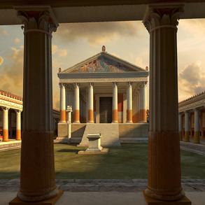 """Raffaelo Gentiluomo, """"Tempio Di Apollo"""""""