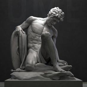 """Ugo Maria Esposito, """"UME Dying Gladiator"""""""