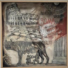 """Beatrice Cepellotti, """"Roma Eterna"""""""