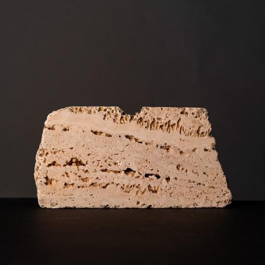 "Francesco Amorosino, ""Sic Transit"", of the series ""In medias res"", marble, 19 x 9,5 x 2 cm"