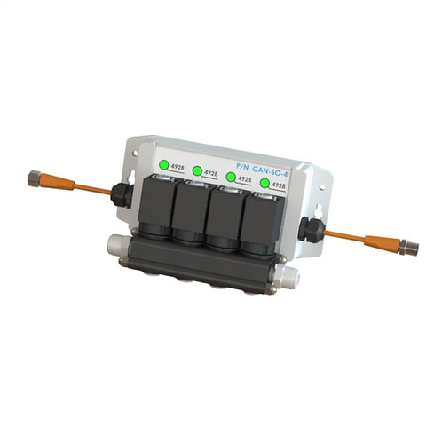 CAN-SO-4 Solenoid Output Module 3-Way Valve