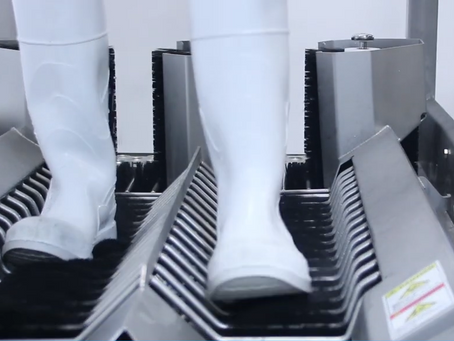 The Next Generation of Boot Cleaning - BLX-1000V9 Automatic Boot Scrubber