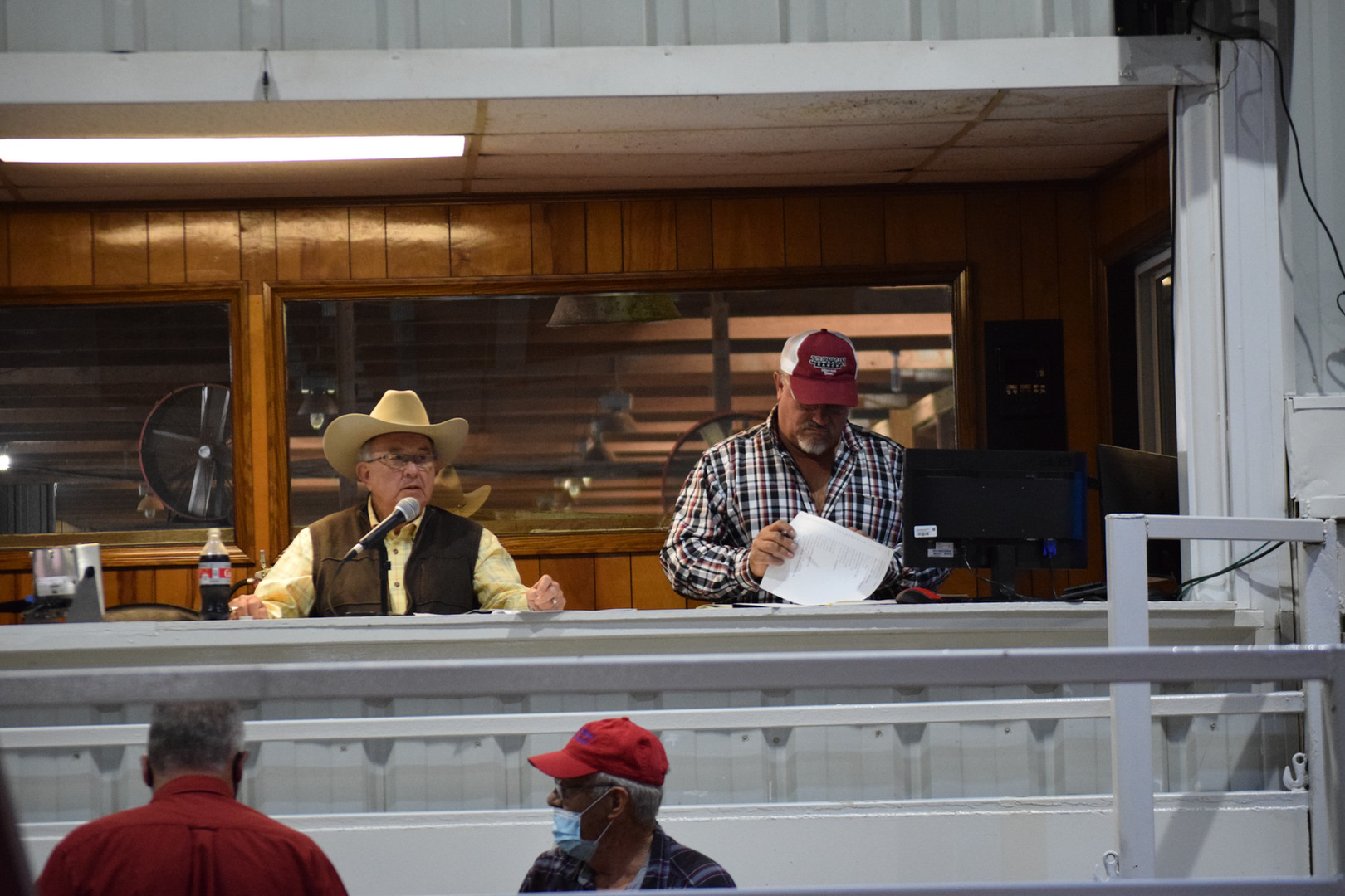 Jack Lowderman-Auctioneer & Larry Day-Sa