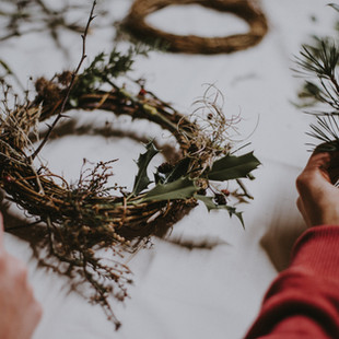 Booking for our wreath making event is open!