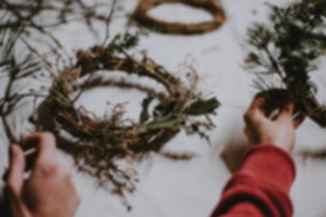 Making Wreaths