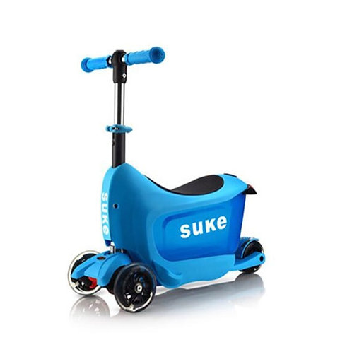 Children Sitting Scooter Rolling Suitcase for 2-3 Years Old Kids