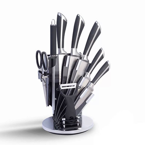 9 pcs Stainless Steel Knife Set
