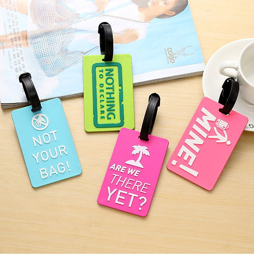 Suitcase Luggage Tags Identifier