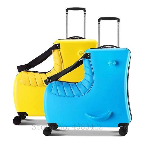 Cartoon Kid's Rolling Luggage Spinner Suitcase Wheels