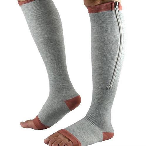 Compression Socks Zipper
