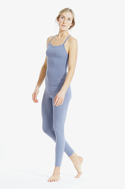 Yoga Jumpsuit Cross BLUE GRANITE