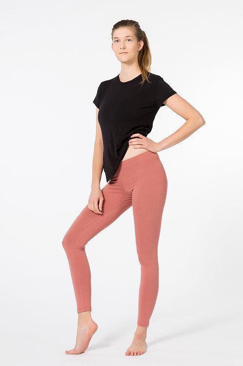 Yoga Leggings Plain CANYON ROSE