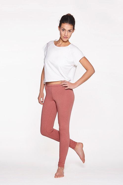 Yoga Leggings Plain - CANYON ROSE