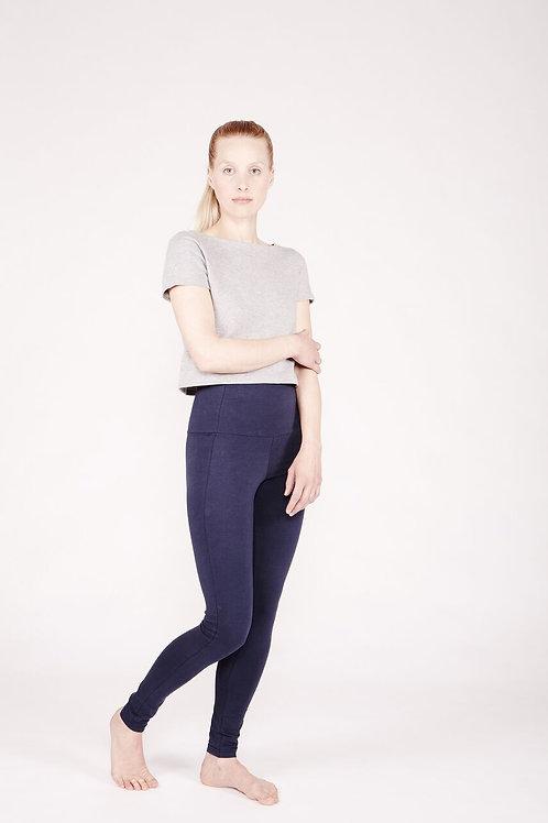 Yoga Leggings High DEEP BLUE