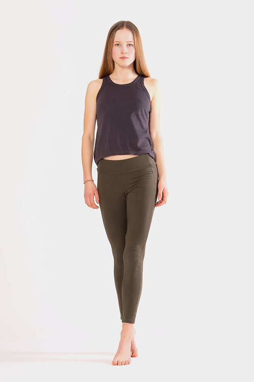 Yoga Leggings High - OLIVE