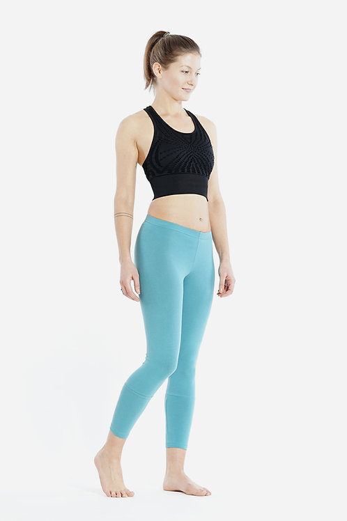Yoga Leggings 7/8 - CYAN