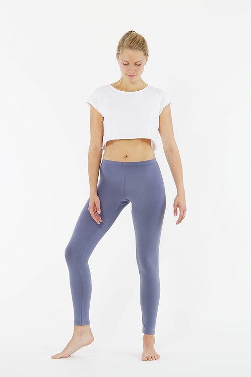Yoga Leggings Plain - BLUE GRANITE