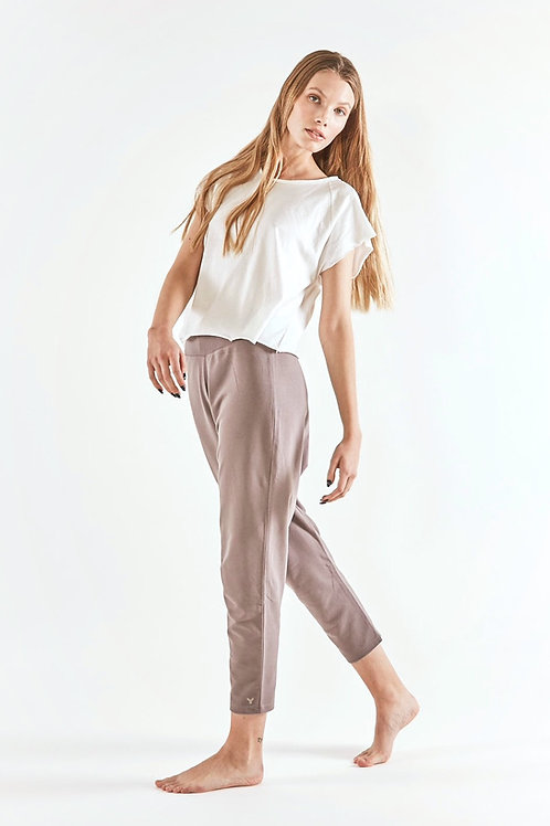 Pants Loose -TAUPE